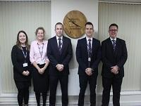 Image of Ysgol Llanfyllin senior leadership team