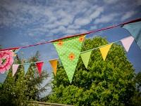 Image of bunting for a street party