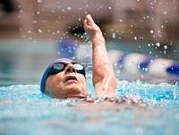 Image of a person swimming