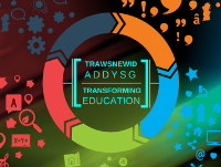 Image of Transforming Education words and its branding