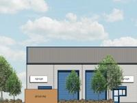 Image of the proposed Abermule business units