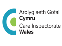Image of the Care Inspectorate for Wales logo