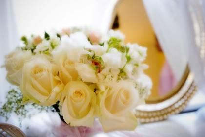 Image of a wedding bouquet