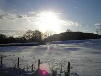 Image of snow covered fields
