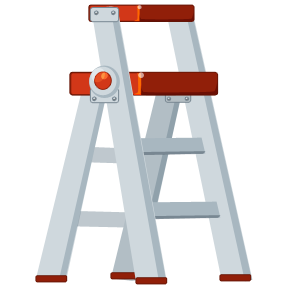 Image of a stepladder