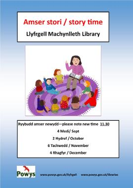 Machylleth Library Story Time