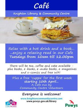 Knighton Library Community Cafe eng