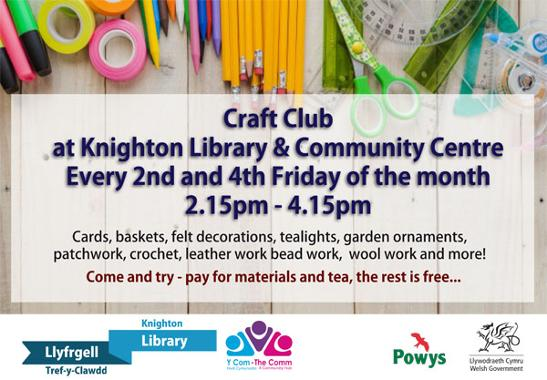 Knighton Library Craft Club