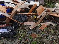 Image of Newtown fly tipping