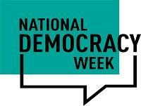 Democracy Week logo