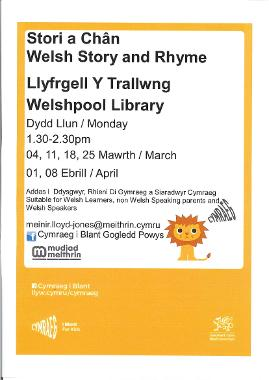 Welshpool Library Welsh Story Rhymetime