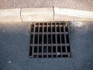 Report a problem with drains