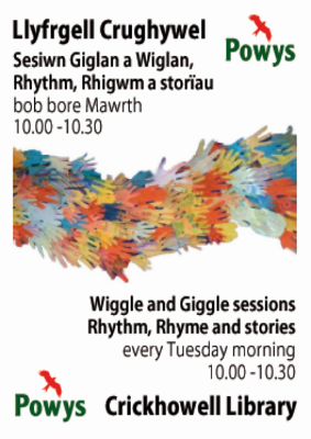 Crickhowell Library Wiggle & Giggle Sessions