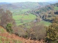 Image of the view across the Dyfi Valley