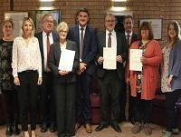 Image of the Trading standards awards winners