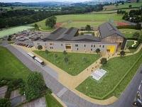 Artists impression of the new Brecon high school
