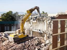Image of a demolition