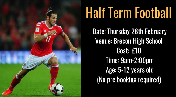 Half-term footy - Brecon