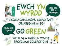 Image of garden waste collection service logo
