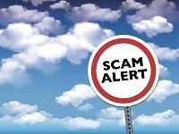 Image of English scam warning