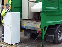 Image of a bulky waste collection