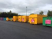 Image of a household waste recycling centre
