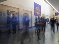 Image of pupils in a school corridor